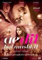 Ae Dil Hai Mushkil Ranbir Kapoor Aishwarya Rai Bachchan Anushka Sharma Poster