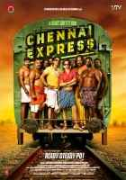 Chennai Express Shahrukh Khan Deepika Padukone Poster