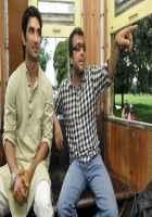 Detective Byomkesh Bakshi Sushant Singh Rajput and Dibakar Banerjee Discussing Stills