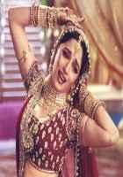 Devdas (2002) Madhuri Dixit Red Dress Stills