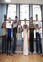English Vinglish Sridevi with others Stills