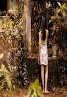 Finding Fanny Deepika Padukone White Short Dress Stills