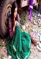 Highway Alia Bhatt In Green Lehenga Stills