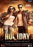 Holiday A Soldier Is Never Off Duty Akshay Kumar Sonakshi Sinha Poster