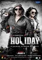 Holiday A Soldier Is Never Off Duty HD Wallpaper Poster