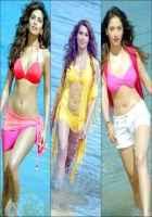 Humshakals Esha Gupta Bipasha Basu Tamannaah Bhatia Hot Bikini Scene Stills