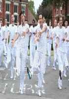 Humshakals Riteish Deshmukh Saif Ali Khan Jail Dress Stills