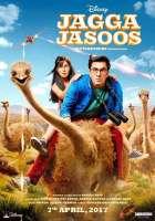 Jagga Jasoos Ranbir Kapoor Katrina Kaif Poster