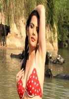 Lucky Kabootar Madhavi Sharma In Bikini Stills