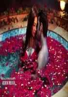 Midsummer Midnight Mumbai Paras Chhabra Sara Khan Hot Romance In Water Pool Stills