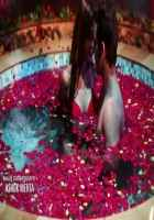 Midsummer Midnight Mumbai Paras Chhabra Sara Khan Hot Scene In Rose Water Pool Stills