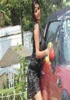Monsoon Srishti Sharma Hot Car Washing Scene Stills