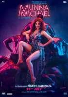 Munna Michael Nidhhi Agerwal Poster