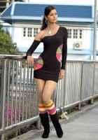 P Se PM Tak Meenakshi Dixit In Hot Black Mini Skirt Stills