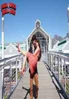 Phata Poster Nikla Hero Ileana DCruz Red Dress Skirt Stills