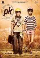 PK (PeeKay) Aamir Khan Anushka Sharma Poster