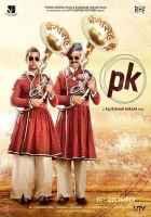 PK (PeeKay) Aamir Khan Sanjay Dutt Poster