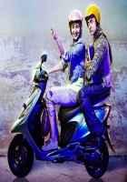 PK (PeeKay) Aamir Khan Anushka Sharma Scooty Picture Stills