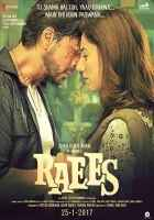 Raees Shahrukh Khan Mahira Khan Poster