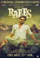 Raees Shahrukh Khan With Goggle Poster