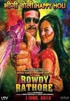 Rowdy Rathore Akshay Kumar Sonakshi Sinha Poster