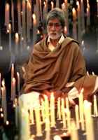 Satyagraha Amitabh Bachchan With Candles Stills