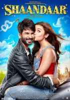 Shaandaar 2015 Shahid Kapoor Alia Bhatt Kissing Poster
