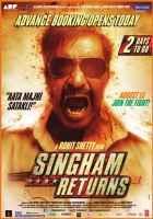 Singham Returns Ajay Devgn Image Poster