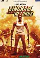 Singham Returns Ajay Devgn Wallpaper Poster