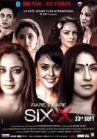 Six X Star Casts Poster