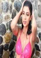 Table No. 21 Tena Desae In Hot Red Bikini Stills