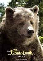 The Jungle Book Irrfan is Baloo Poster