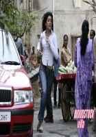 Woodstock Villa Neha Oberoi White Shirt Blue Jeans Stills