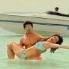 Judwaa 2 Stills Varun Dhawan And Taapsee Pannu In Bikini