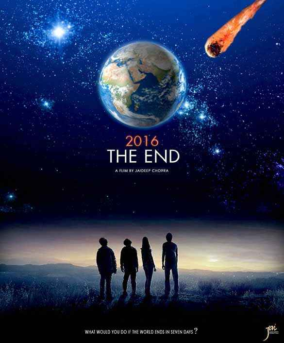 2016 The End  Poster