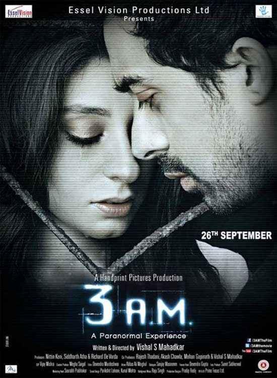 3 AM : The Hour Of The Dead Anindita Nayar Rannvijay Singh Poster