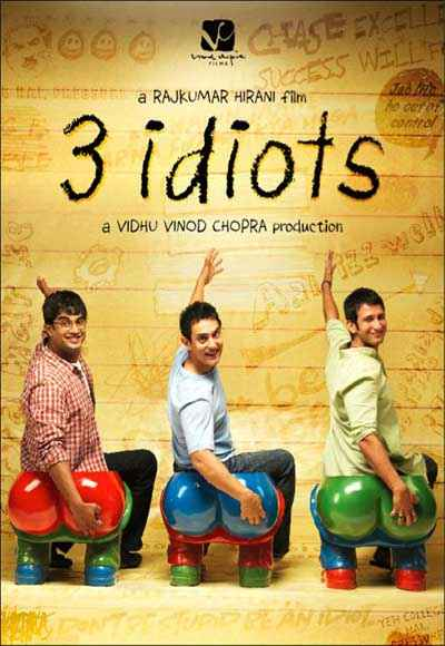 3 Idiots First Look Poster