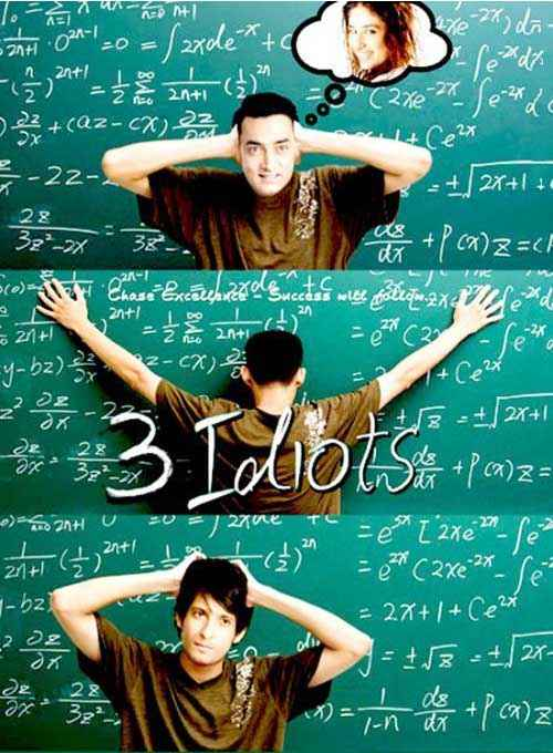 3 Idiots Images Poster