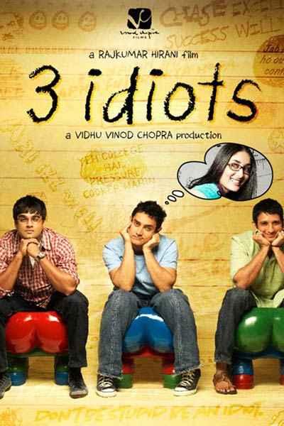 3 Idiots  Poster