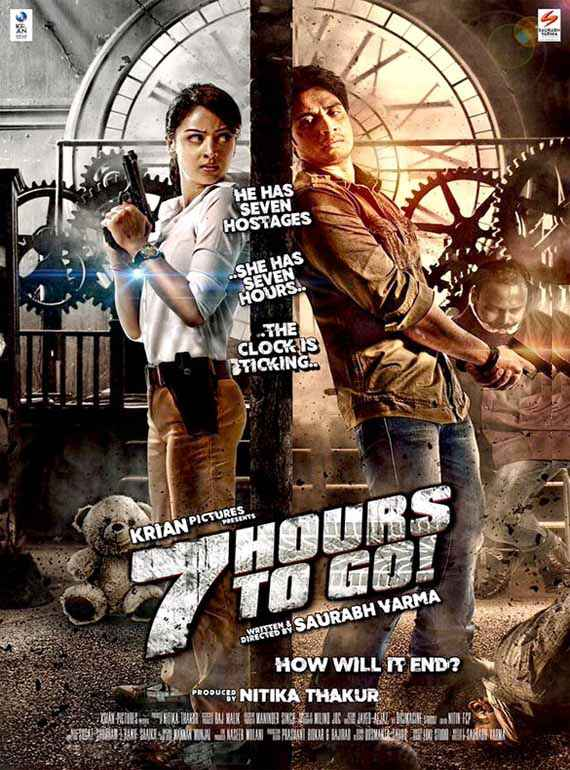 7 Hours To Go Shiv Pandit Sandeepa Dhar Poster
