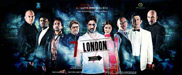 7 Welcome to London New Poster