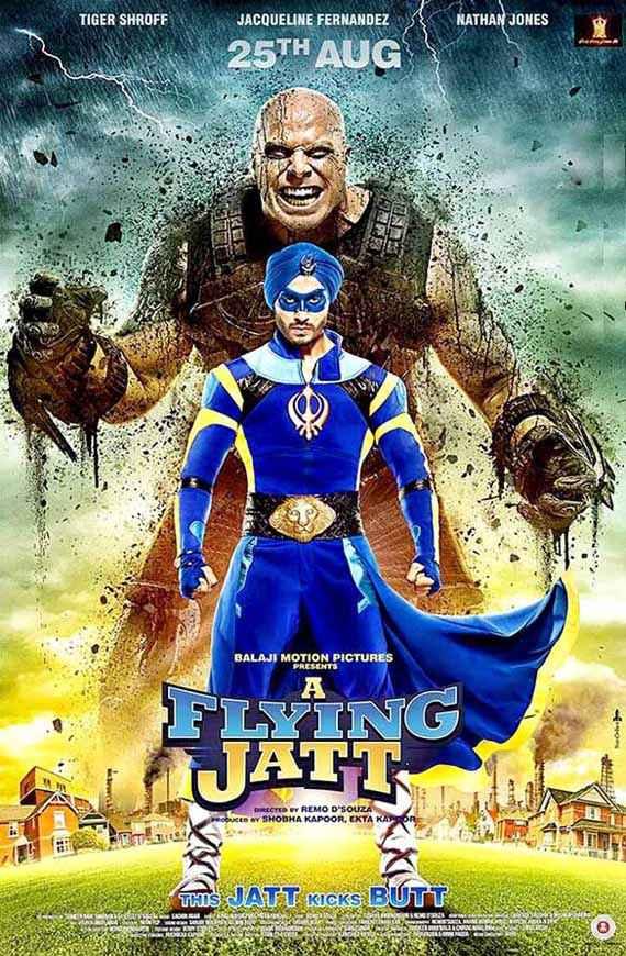 A Flying Jatt First Look Poster