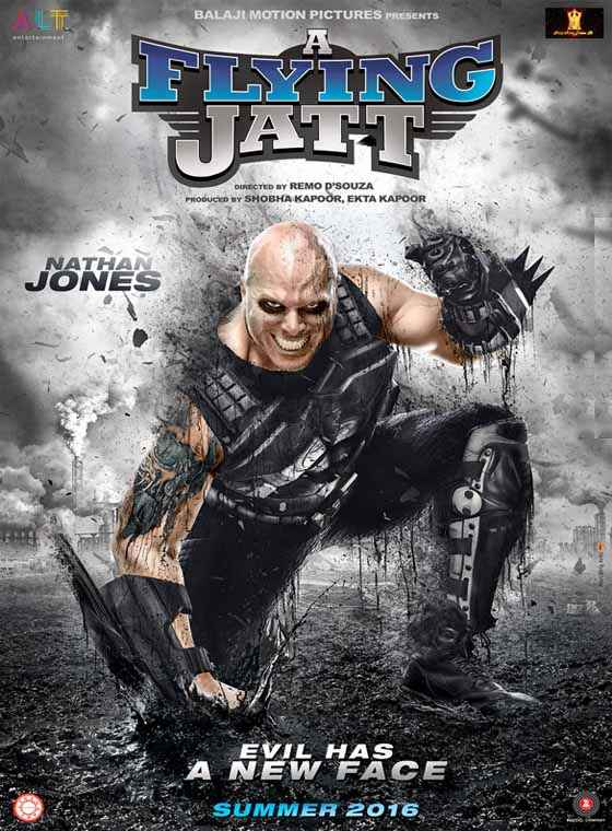 A Flying Jatt Nathan Jones Poster