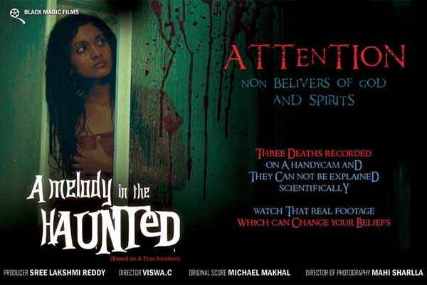 A Melody In The Haunted First Look Poster