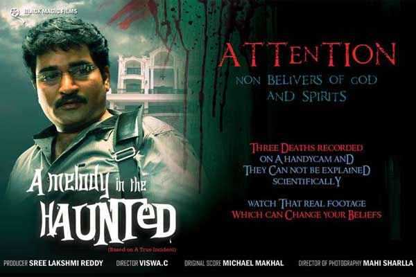A Melody In The Haunted New Poster