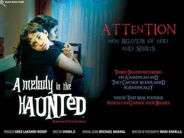 A Melody In The Haunted  Poster
