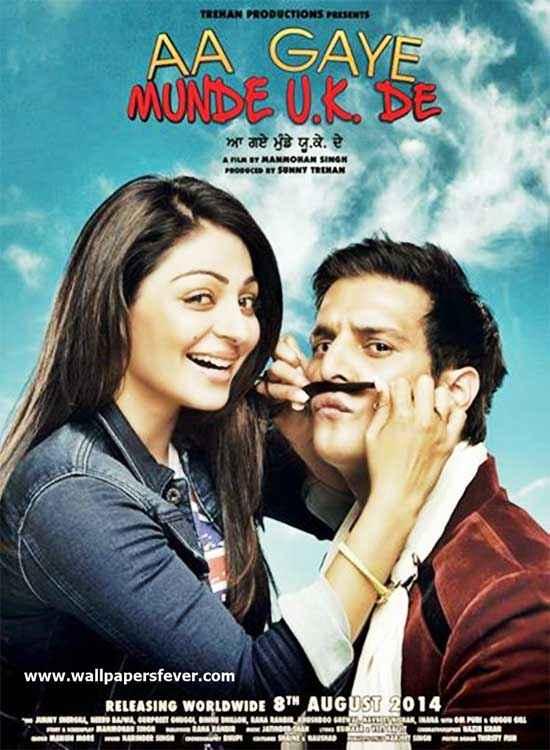 Aa Gaye Munde UK De Image Poster