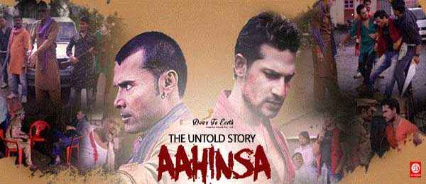 The Untold Story Aahinsa Anup Shukla Nafe Khan Image Poster