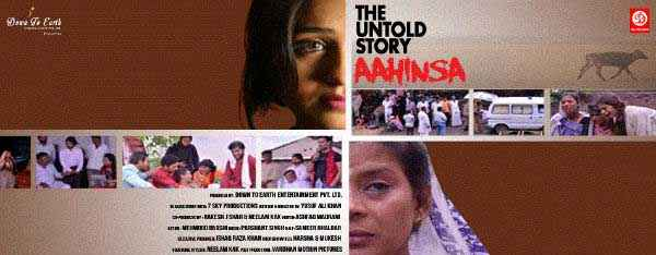 The Untold Story Aahinsa Extra Shoots Poster