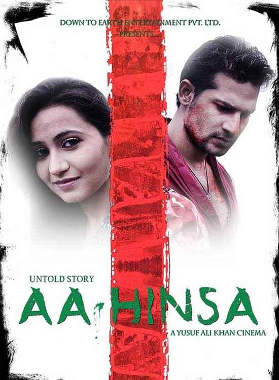 The Untold Story Aahinsa Kaashvi Kanchan Nafe Khan Poster